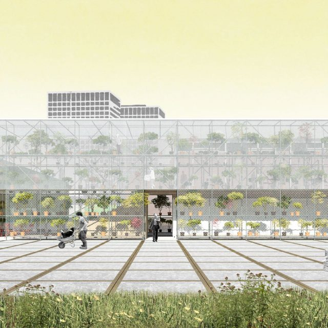 Cool Down City; a green oasis combined with the industrial character of the M4-port area in Rotterdam. . . @keizer_koopmans @cooldowncity @steurgebouw #circulairarchitecture