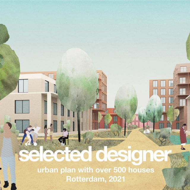 Keizer Koopmans has been selected as urban designer for a plan with over 500 houses in Rotterdam. In a closed competition we presented our vision together with our partners: landscape architects @b_plus_b and advisors for sustainable environment @over_morgen.   In the last months we've been working intensively with different market parties, stakeholders and the municipality on an integrated plan. We cannot show more details yet, but the plan is starting to look amazing!   This image was part of our competition entry.   @keizer_koopmans #urbanismetransitoire