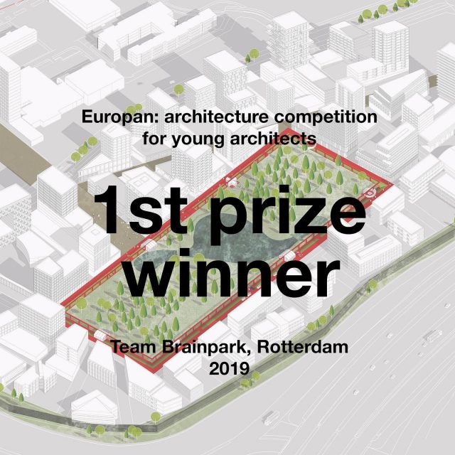 YES!! 1st. prize at the Europan competition!! Very nice words by the jury👌🏼. Proud that they appreciate the ideas and hard work. . . . . @europan_europe @europan_nl #architecture #urbanism #architecturecompetition #europan #brainparkrotterdam #youngarchitects #thenewbestarchitects @wouterkzr @ulekoopmans @liekejildou