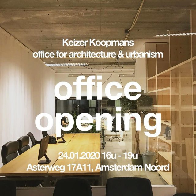 Openingsborrel!! Een nieuw bureau vraagt om een nieuw kantoor. De afgelopen weken hebben we hard geklust en het eindresultaat willen we graag met je delen.  Je bent van harte welkom tussen 16.00u - 20.00u voor een drankje op Asterweg 17A11 in Amsterdam Noord!